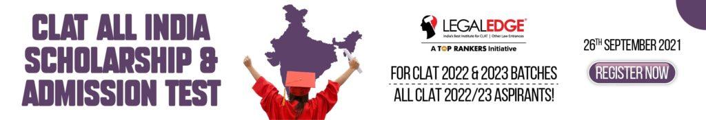 CLAT Scholarship Test 2021